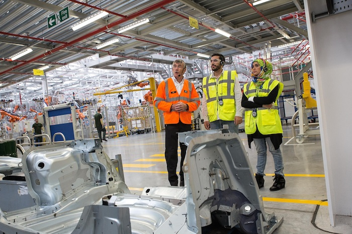 jaguar-design-xe-competition-winners-visit-uk-headquarters