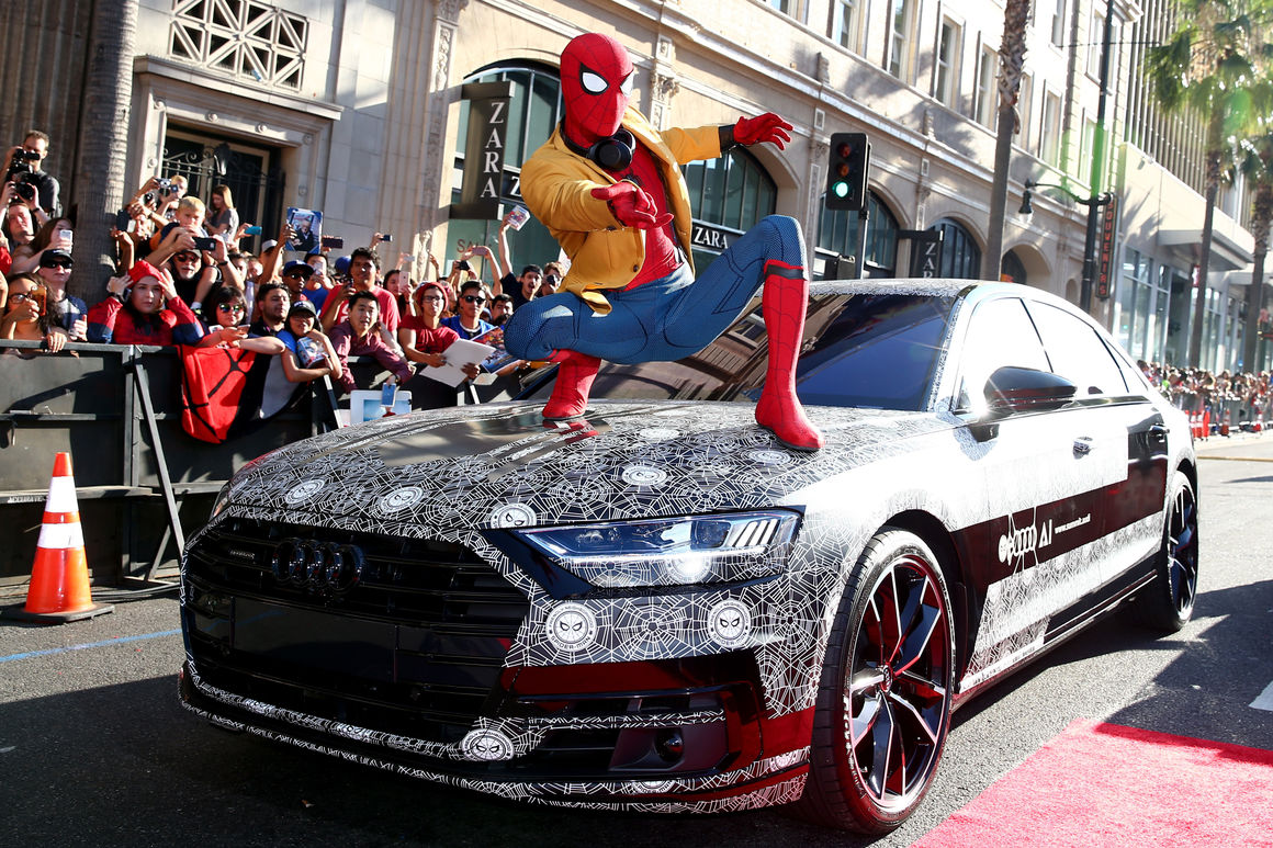 why-did-audi-work-with-marvel-characters