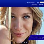 NIVEA Website Screengrab