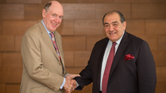 Worldwide Chairman and CEO of Ogilvy & Mather and Eddie Moutran, Chairman and CEO, Memac Ogilvy - small (1)