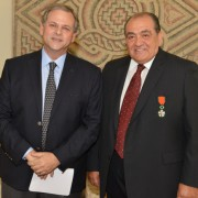 H.E. Nabil De Freige & Mr. Edmond Moutran