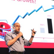 Iyad Kamal, COO of Aramex, at ArabNet Digital Summit 2013