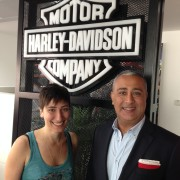Yusuf Pingar - Managing Director, Spark with Elsa Abi Nader - Regional Marketing Manager, HARLEY-DAVIDSONR MENA.
