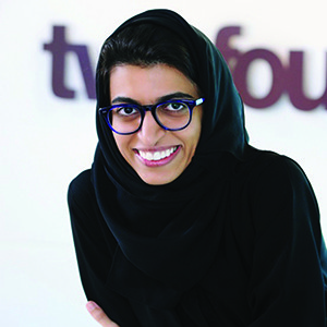 Noura Al Kaabi, CEO of twofour54