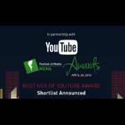 YouTube Award shortlist