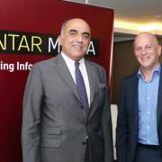 (L-R) Roy Haddad and Keld Nielsen
