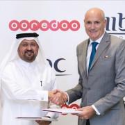 Waleed AL Sayed_CEO_OoredooQatar and Sam Barnett_CEO_MBC Group