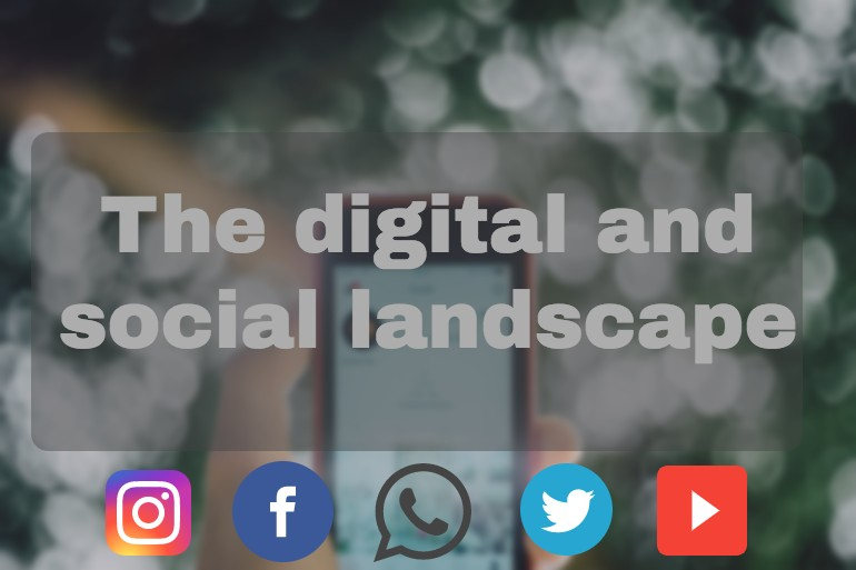 Digital and social landscape