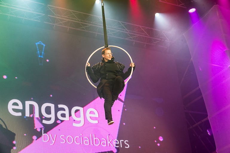 Socilabakers' annual Engage conference discussed social media issues