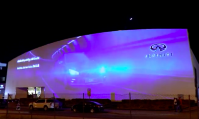 Infiniti - Largest video billboard