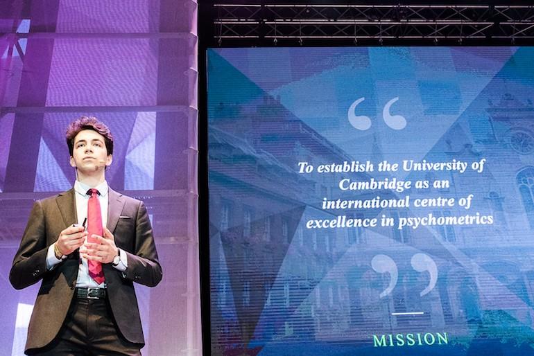 Vesselin Popov, business development director for the University of Cambridge Psychometrics Centre
