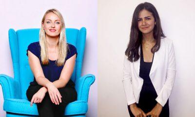 L: Anna Ahtiaine, PHD UAE; R Hiba Madi, PHD Lebanon