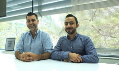 L to R - Arian Hashemi, creative director and Khalid AlAtrash, client service director at GCreative, Grayling