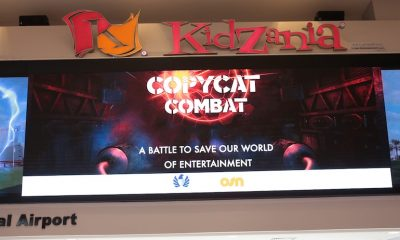 Copycat Combat at Kidzania - anti piracy