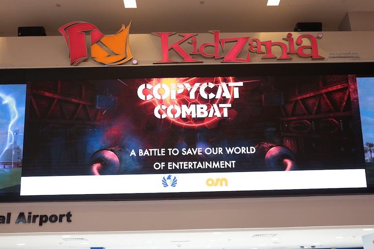 Copycat Combat at Kidzania - anti piracy