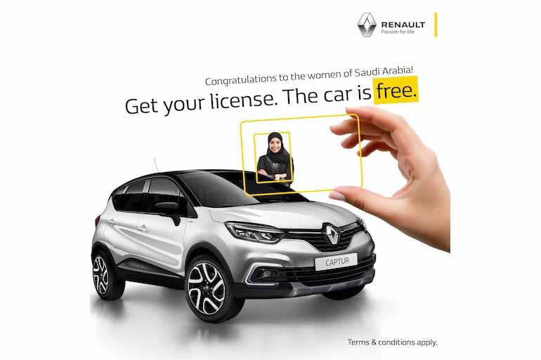 Renault Middle East celebrates Saudi women
