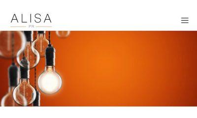 Alisa PR website