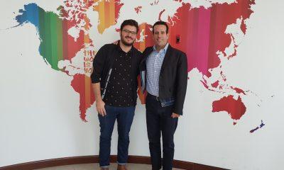Mazen Jawad (right) and Bruno Bomediano Horizon FCB
