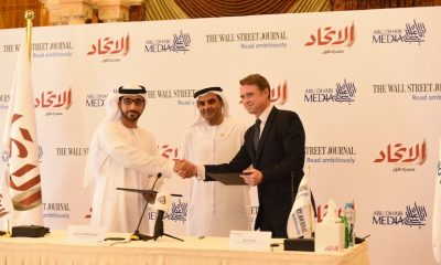Aletihad and WSJ agreement ceremony