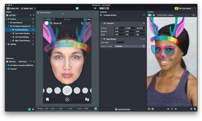 Snap Face Templates 2D Studio Screenshot